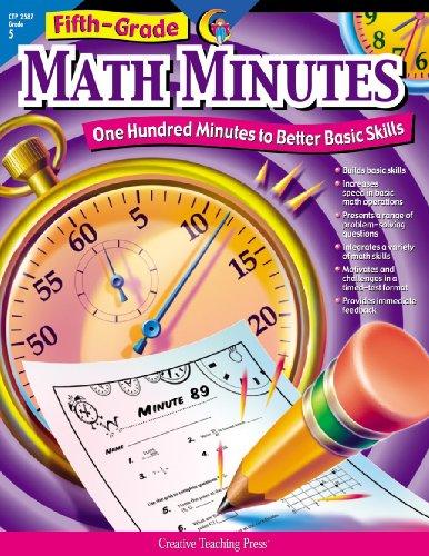 5th Grade Math Minutes: Sarah M. Fornara