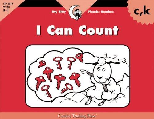 I Can Count, Itty Bitty Phonics Reader (Itty-bitty Phonics Readers): Rozanne Lanczak Williams