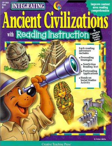 9781574719079: Ancient Civilizations: With Reading Instruction (Integrating (Creative Teaching Press))