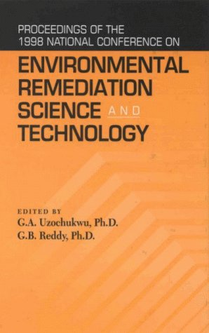 National Conference of Environmental Remediation Science and: National Conference on