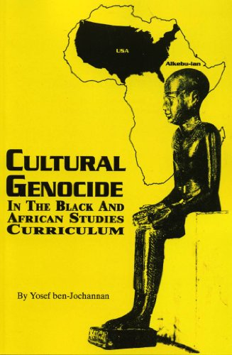 9781574780222: Cultural Genocide in the Black and African Studies Curriculum