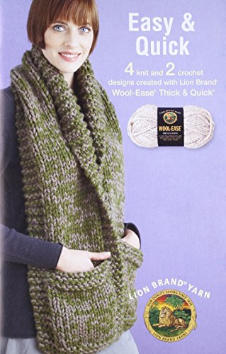 Easy and Quick featuring Lion Brand Wool (Leisure Arts #75282): Lion Brand Yarn