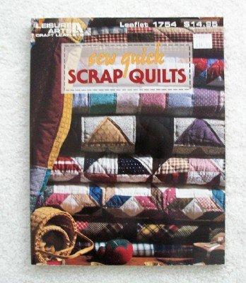 9781574860863: Sew quick scrap quilts (Leisure Arts craft leaflets)