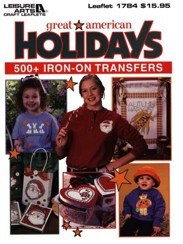 Great American Holiday Iron-On Transfer: Oxmoor House