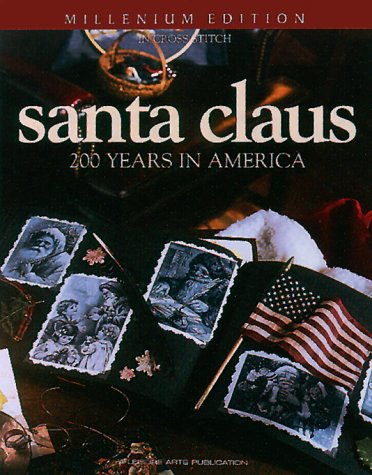 9781574861327: Santa Claus: An American Treasure in Counted Cross Stitch
