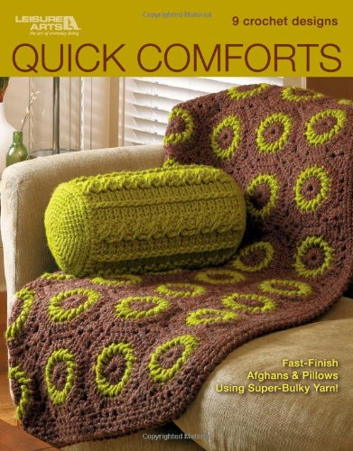 9781574861365: Quick Comforts in Crochet (Leisure Arts #4834)