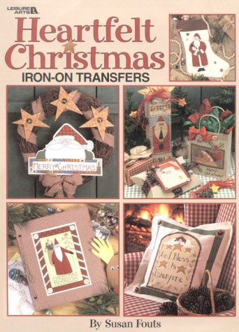 Heart Felt Christmas Iron on Transfer Book (1574861476) by Oxmoor House