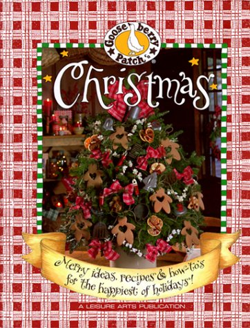 9781574861518: Gooseberry Patch Christmas: Merry Ideas, Recipes & How-To's for the Happiest of Holidays!