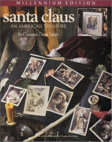 9781574861631: Santa Claus: An American Treasure in Counted Cross Stitch (Christmas Remembered)