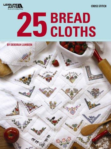 25 Bread Cloths (Paperback): Deborah Lambein