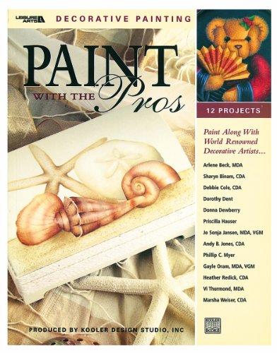 Paint With The Pros (Leisure Arts #22540): Kooler Design Studio