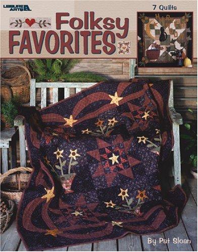 9781574863277: Folksy Favorites (Leisure Arts #3391)