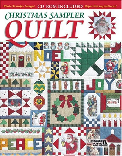 Christmas Sampler Quilt (Book & CD-ROM) (9781574864427) by Leisure Arts