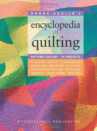 9781574865073: Donna Kooler?s Encyclopedia of Quilting (Leisure Arts #15926)