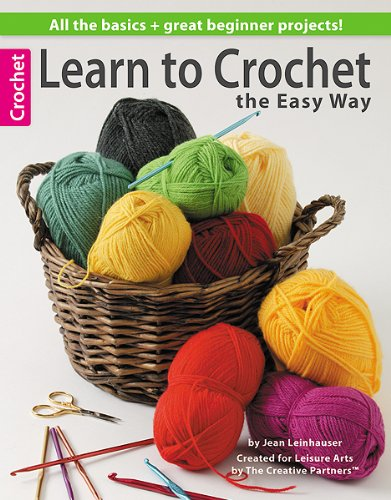 9781574866490: Learn to Crochet the Easy Way (Leisure Arts #4334)