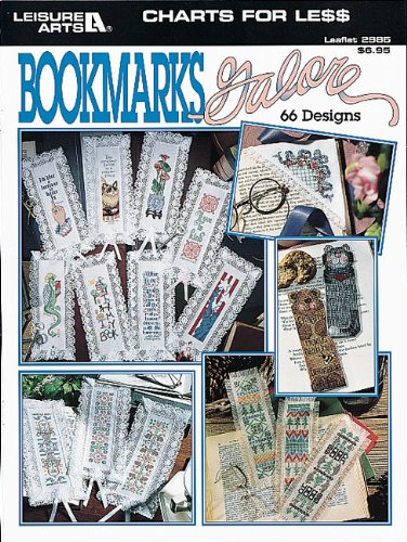 9781574868531: Charts For Less -- Bookmarks Galore (Leisure Arts #2985)