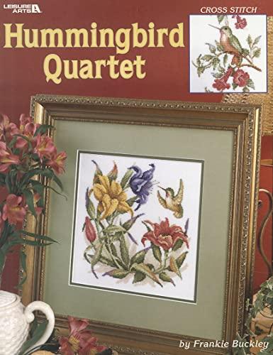 Hummingbird Quartet: Cross Stitch: Frankie Buckley