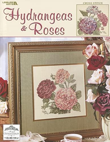 Hydrangeas and Roses: Cross Stitch: Turley, Glynda
