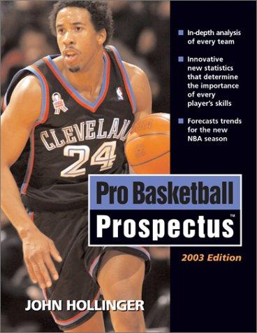 9781574886559: Pro Basketball Prospectus: 2003-04 Edition