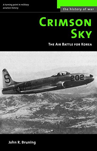 9781574888416: Crimson Sky: The Air Battle for Korea (History of War)