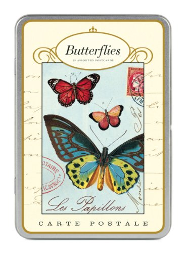 9781574890235: Butterflies Carte Postale Postcards