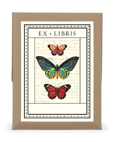 9781574890662: Ex Libris Butterflies Bookplates