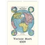 9781574896343: Vintage Maps 2009 Poster Calendar