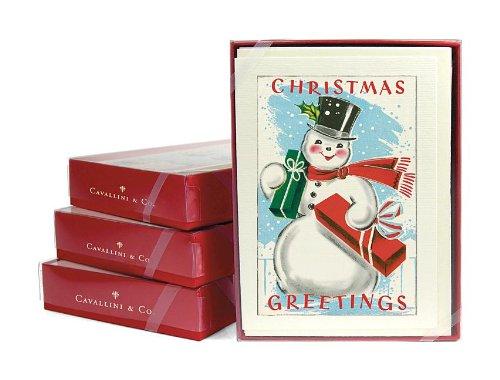 9781574898736: Snowman Notecards
