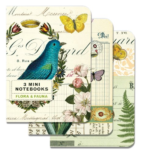 9781574898903: Flora & Fauna Mini Notebook