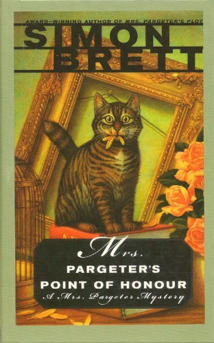 9781574904659: Mrs. Pargeter's Point of Honour (Beeler Large Print Mystery Series)