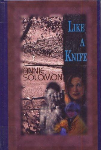 9781574905229: Like a Knife (Beeler Large Print Series)