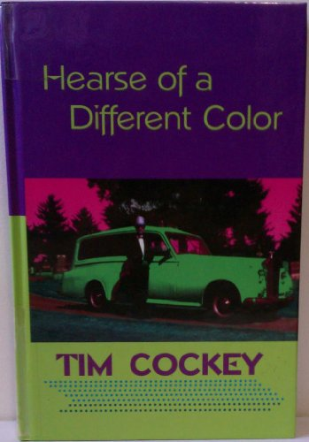 9781574905366: Hearse of a Different Color (Beeler Large Print Series)