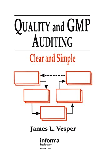 9781574910551: Quality and GMP Auditing: Clear and Simple