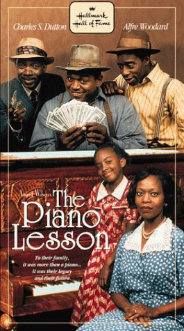 9781574922813: The Piano Lesson (Hallmark Hall of Fame) [VHS]