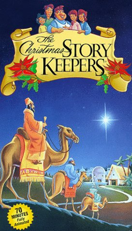 9781574927610: The Christmas Story Keepers [VHS]