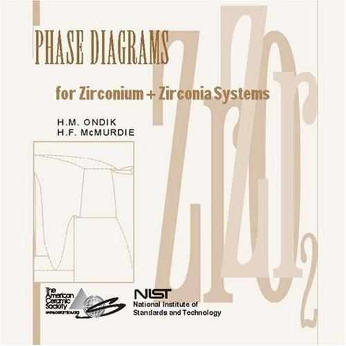 9781574980554: Phase Diagrams for Zirconium & Zirconia Systems