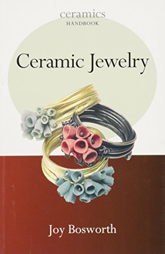 Ceramic Jewelry 9781574983050 Ceramic jewelry is an ever-growing area of the ceramic world. Although ceramic beads have been around for as long as pots have, the idea of ceramic jewelry has been making a comeback in a much more glamorous and professional form than ever before. This book shows how clay can be combined with other materials such as silver, gold, leather, textiles or stones to create some unique and innovative pieces. The book looks at how to source or create your own fittings and findings, the problems of design and the practicalities of joining the various elements to create a successful piece. Well illustrated both with practical images and beautiful photos of finished work from an international range of artists. Part of the Ceramics Handbook series: conceived as an introduction to various topics and techniques relating to the use of clay. Aimed at the student or the practiced ceramicist experimenting in a new area.