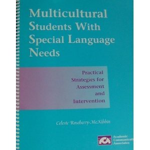 9781575030029: Multicultural Students With Special Language Needs