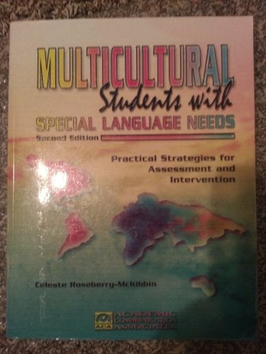 9781575030913: Multicultural Students With Special Language Needs: Practical Strategies for Assessment and Intervention