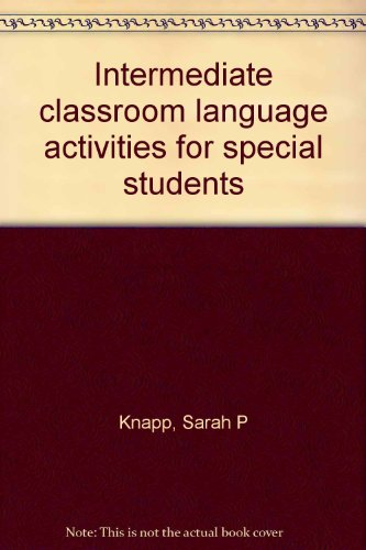 9781575030982: Intermediate classroom language activities for special students