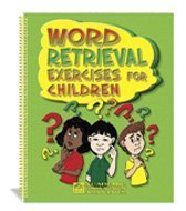 9781575031019: Word Retrieval Exercises for Children: A Language Activity Resource