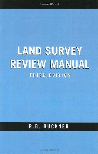 9781575041575: Land Survey Review Manual