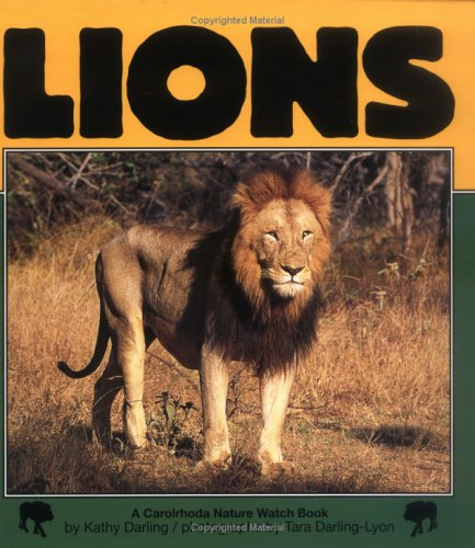 9781575054049: Lions (Nature Watch (Lerner))