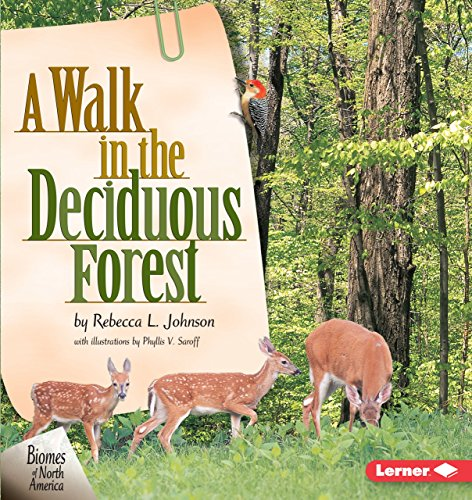 9781575055275: A Walk in the Deciduous Forest (Biomes of North America)
