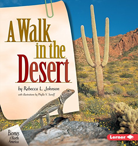 9781575055299: A Walk in the Desert (Biomes of North America)