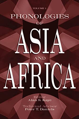 9781575060194: Phonologies of Asia and Africa: Including the Caucasus (2 Volume Set)