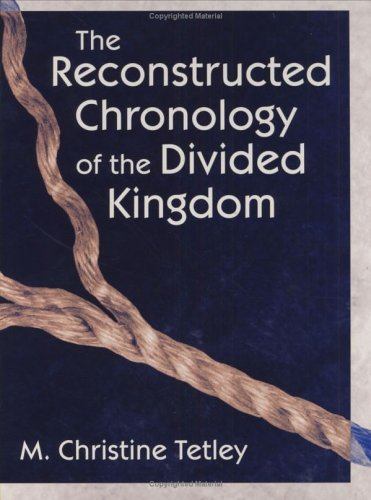 Reconstructed Chronology of Div. Kngdm