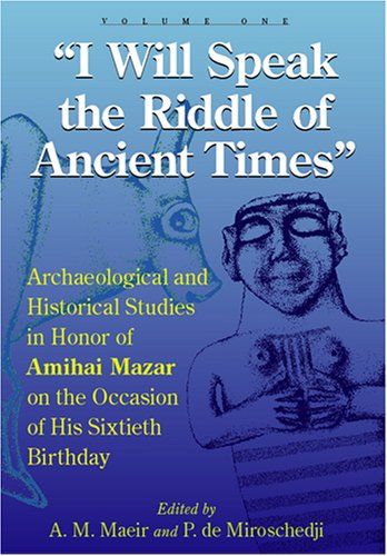 9781575061030: I Will Speak the Riddles of Ancient Times