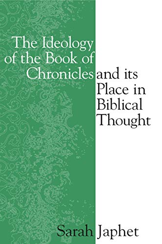 Ideology of the Book of Chronicles a