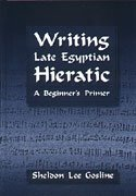 9781575061870: Writing Late Egyptian Hieratic: A Beginner's Primer